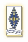 ARRL Diamond Club logo and link.